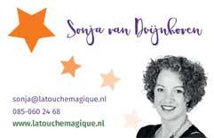 La Touche Magique-contactkaartje