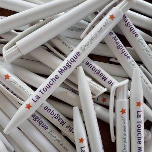 De pennen van La Touche Magique