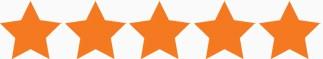 Google review 5 sterren voor La Touche Magique