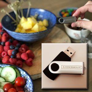 USB sticks met bedrukking - La Touche Magique