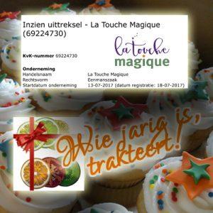 La Touche Magique is 1 jaar