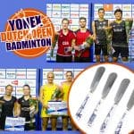 Hollands cadeau voor Yonex Dutch Open