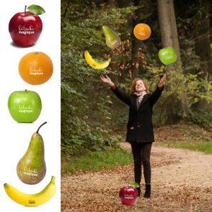 Bedrukt fruit - La Touche Magique
