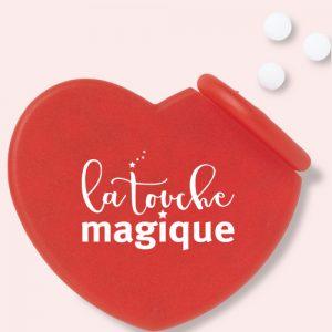 Een hart met Valentijnsdag of als relatiegeschenk - La Touche Magique