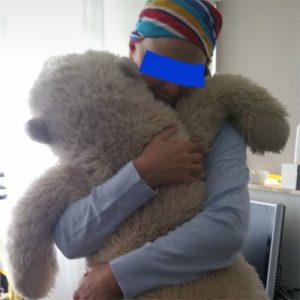 Een knuffel van Fia en Brammetje