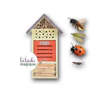 Bijendag - Insectenhotel - La Touche Magique