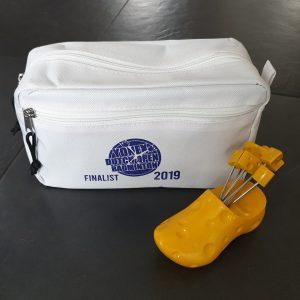 Een cadeau voor de finalisten van de Yonex Dutch Open 2019