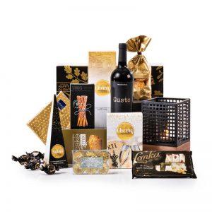 Kerstpakket uitgelicht proosten - magische kerstpakketten - La Touche Magique