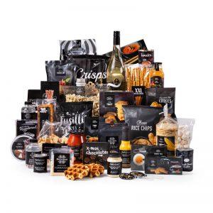 Kerstpakket zwart XL - magische kerstpakketten - La Touche Magique